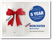 Maghull Heating Worcester Bosch Accredited